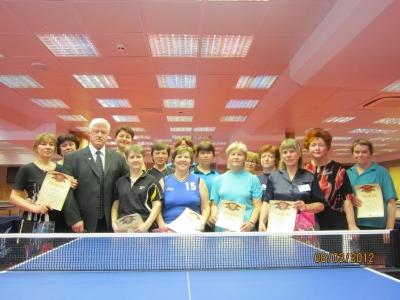 В клубе настольного тенниса «РОДИНА» в честь 8 марта состоялся праздничный турнир