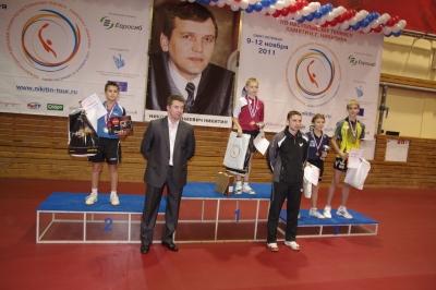 Турнир памяти Никитина 2011 года в Санкт-Петербурге
